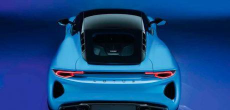 2022 Lotus Emira 3.5 - rear top