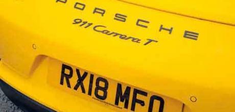 2018 Porsche 911 Carrera T 991.2 rear