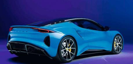 2022 Lotus Emira 3.5 - rear
