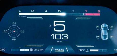 2022 Lotus Emira 3.5 - dashboard