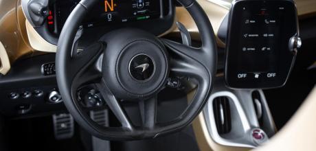 2022 McLaren Elva steering wheel
