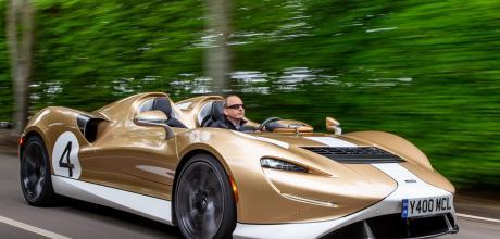 2022 McLaren Elva test drive