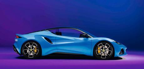 2022 Lotus Emira 3.5 - profile