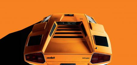 Lamborghini Countach rear