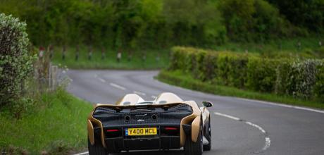 2022 McLaren Elva road drive