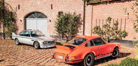 1973 Porsche 911 Carrera RS 2.7 'Touring' vs. 1973 BMW 3.0 CSL 'Batmobile' E9