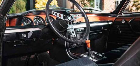 1973 BMW 3.0 CSL 'Batmobile' E9 - interior