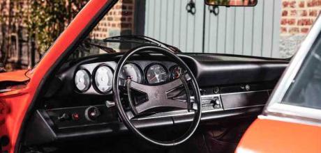 1973 Porsche 911 Carrera RS 2.7 'Touring' interior